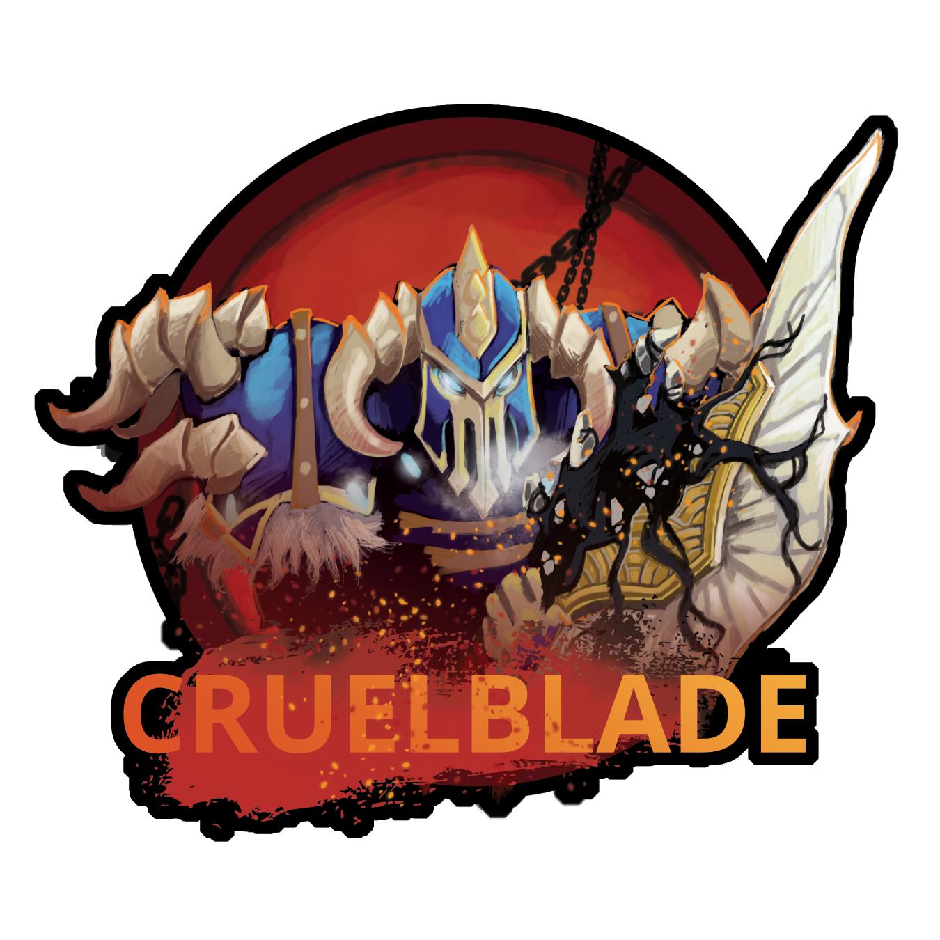 Blizzcon Badge - Cruelblade - Orc DK